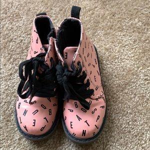 Pink Baby Zara Boots